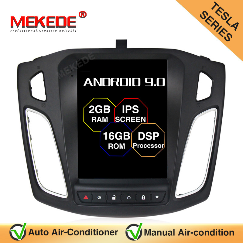 MEKEDE 10.1 inch DSP <font><b>Android</b></font> 9.0 Touchscreen Car Radio ForFord Focus 2011 2012 2013 2014 2015 <font><b>2Din</b></font> Head Unit Multimedia Player image