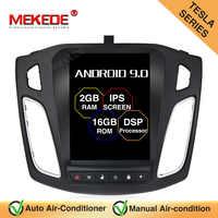 MEKEDE 10,1 zoll DSP Android 9.0 Touchscreen Auto Radio ForFord Focus 2011 2012 2013 2014 2015 2Din Kopf Einheit Multimedia Player