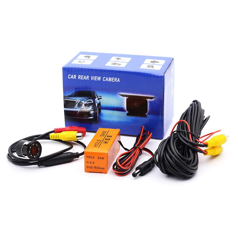 170° CMOS Auto Car Rear View Backup Camera Reverse 8 LED Night Vision Waterproof