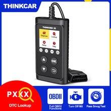 Thinkcar ferramenta de diagnóstico thinkobd 20 obd2 scanner profissional para verificação automática do motor luz dtc lookup obd 2 scaner automotriz