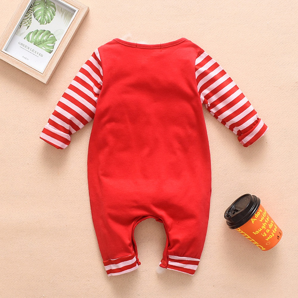 Hc58106b284b84af2a62029ef99153f0eB 2018 New Newborn Baby Boys Girls Romper Animal Printed Long Sleeve Winter Cotton Romper Kid Jumpsuit Playsuit Outfits Clothing