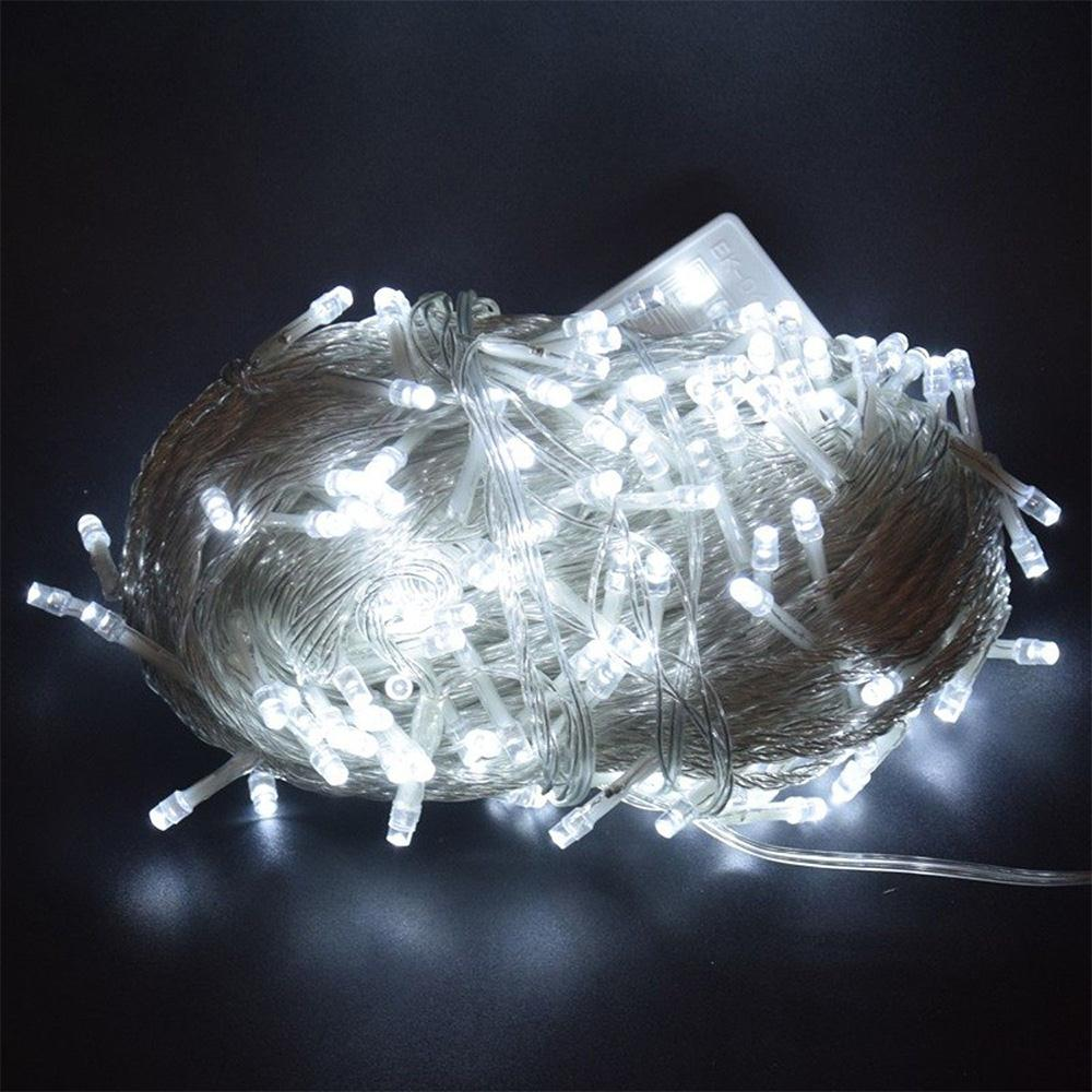 Led Fairy Lights Fairy String <font><b>10M</b></font> <font><b>100LED</b></font> <font><b>220V</b></font> Outdoor Festival Garden Xmas Decor Landscape Lamp Fairy Light Super Bright Yard image