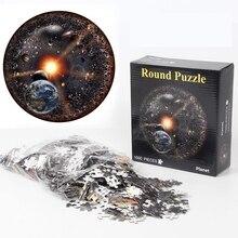 Toy Jigsaw-Puzzle Geometrical 1000pcs/Set Paper Rainbow Educational Colorful Kids Diy