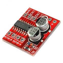 5pcs L298N  DC Motor Drive Module Reversing PWM Speed Dual H Bridge Stepper Motor Mini L298N PWM  Motor Speed Control Board