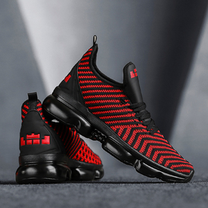 Image 3 - QGK 2019 جديد الرجال حذاء كاجوال وسادة هوائية أحذية رياضية الرجال شبكة ضوء تنفس الربيع في الهواء الطلق أحذية رياضية الصيف تشغيل رياضية