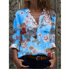 Новая модная Повседневная рубашка с длинными рукавами для женщин