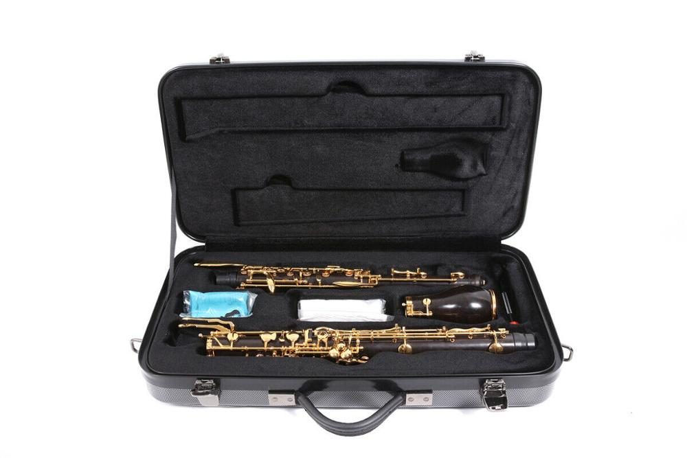 New Wooden English Horn Professional Ebony Wood Englishhorn Oboe Golden Plated