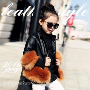 Image 5 - 2020 fashion Baby Winter Outerwear & Coats Childrens Fur Girls fur Coat Kids Faux Fur Fabric Clothes Fur coat 2 10