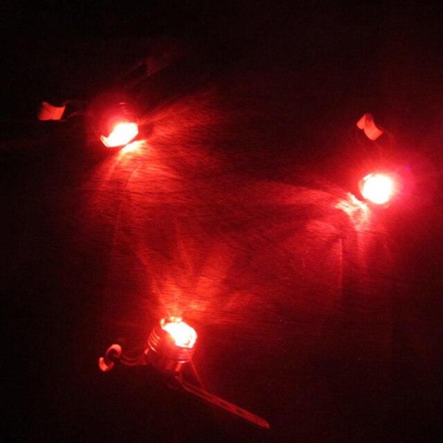 À prova dwaterproof água luzes da bicicleta cauda traseira led ciclismo lanterna lâmpada de advertência segurança ciclismo luz para montanhas bicicleta selim 3