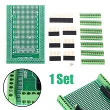 MEGA-2560 Prototype Screw Terminal Block Shield Board Female Header Sockets Kit for Electro