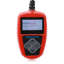 Voltage Battery Tester Battery Tester Checker 12V Car Tester Ba101 skyrc bma 01 brushless motor analyzer tester rpm kv voltage timing noise amp hall checker motolyzer for rc car part with lcd