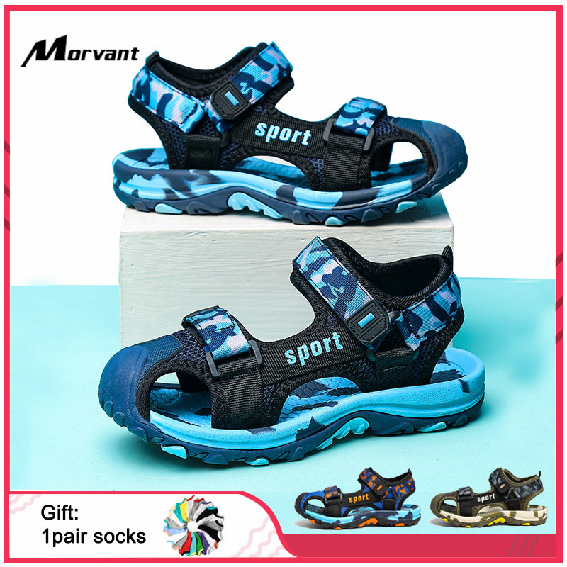 Kids Sandals Soft Comfortable Boys Girls Sandals Outdoor Casual Children's Shoes Non-slip Anti-collision Kids Shoe