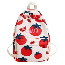 New Summer Print Student Backpack Fashion Bag Female Casual Joker Travel