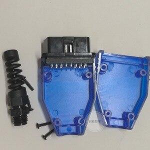 Image 5 - 25% オフ FINETRIP ユニバーサルプラスチック Diy 車ケーブルケース Obd 雄プラグ OBD2 16Pin コネクタ J1962 卸売 50 個