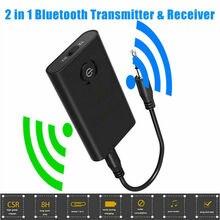 Adaptateur Audio sans fil Bluetooth 5.0, 2 en 1, A2DP, Jack 3.5mm, Aux, adaptateur pour PC, TV, casque, voiture