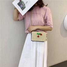купить Luxury Handbags Women Bags Designer Straw Bag Women's Shoulder Bag Casual Crossbody Bag Small Bag онлайн