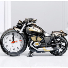 Four Styles Fashion Personality Creative Motorcycle Digital Alarm Clock Home Livingroom Bedroom Studyroom Decor Accessories