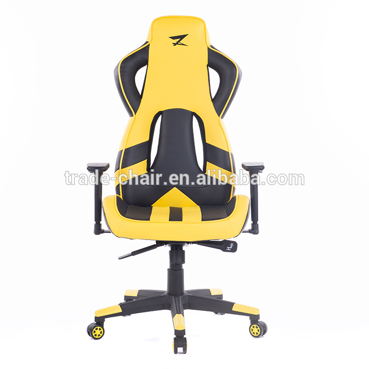 Executive Ergonomic Chair Super Computer Game Chair Rotate Armrest Office Lifting Reclining Racing PU Leather Chair HWC
