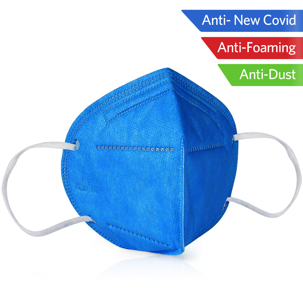 1/5/10pc KN95 Adult Folding Face Mask Nonwoven Dustproof Health Mouth Cover Dustproof Protective 95% Filtration KN95 Mouth