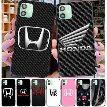 Benz Car brand Honda Phone Case Black TPU For iphone 12 pro max 11 pro XS MAX 8 7 6 6S Plus X 5 5S SE 2020 XR case image