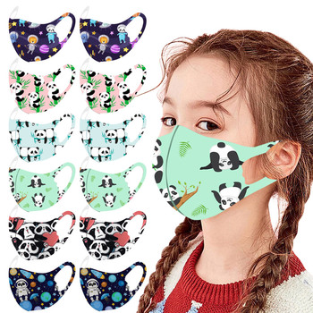 Face Mask for Kids 1pc Children's 3-layer Disposable Non-woven For Children Cotton Face Mask for Kids Fast Delievry Mascarillas image
