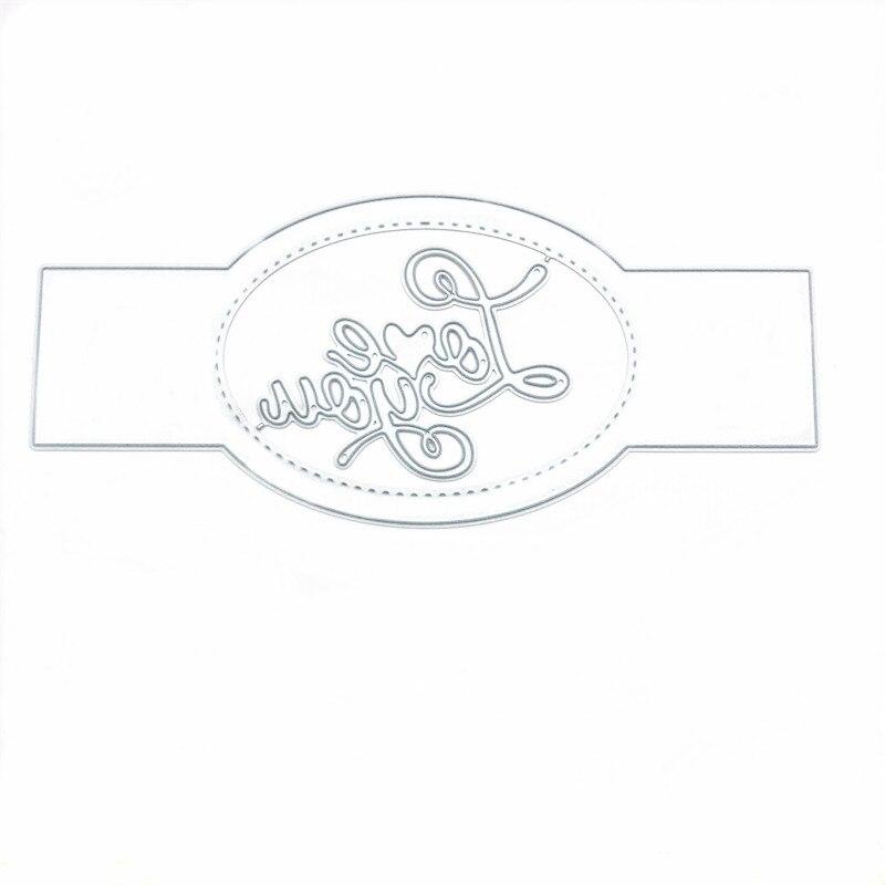 Купить ремесло love you буквы металлические режущие штампы прессформы