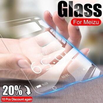 Перейти на Алиэкспресс и купить Закаленное стекло 100D для Meizu 16 16th 16S 16T 16XS C9 Pro, Защитная пленка для экрана Meizu X8 V8 M8 Note 8 9