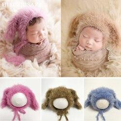 Очаровательны овец шапочка для новорожденного, для малыша новорожденных новый роскошный мягкий шляпа шапки для малышей, для мальчиков и де...