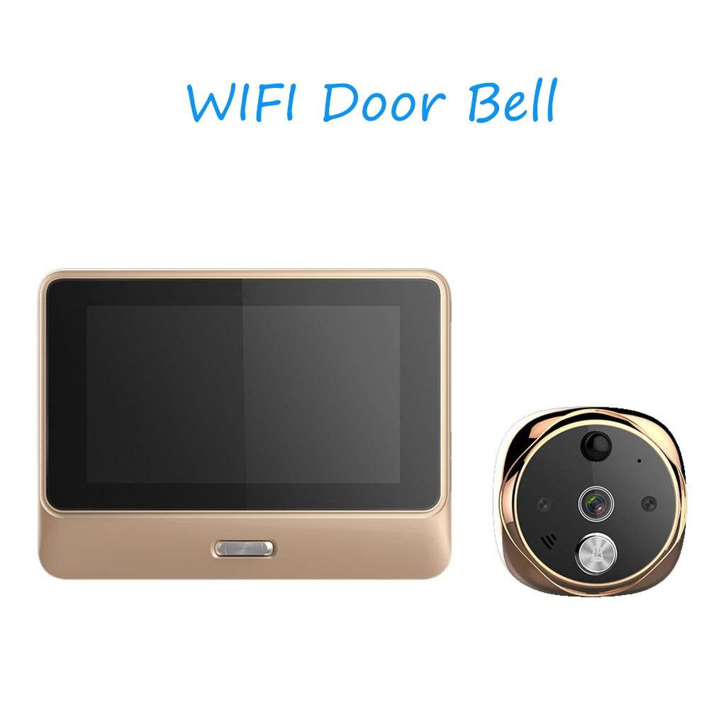 Digital Door Viewer T/ürklingel 3,0 inch LCD /Überwachungskamera Monitor 170 /° Weitwinkel Objektiv Nachtsicht