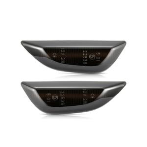 Image 2 - 2pcs Led דינמי צד מרקר אור סדרתית נצנץ Turn אות אור לאופל מוקה עבור אופל מוקה X עבור שברולט Trax