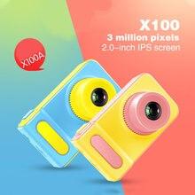 Mini cámara de juguete de cámara Digital para niños, juguete de cámara de vídeo de dibujos animados, 1080p, HD, regalos de fiesta para niños