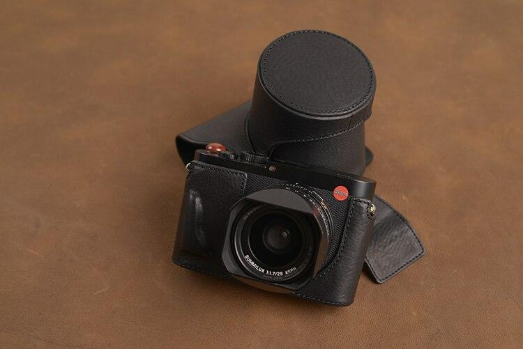 AYdgcam ยี่ห้อ Handmade หนังแท้กระเป๋ากล้องผิวสำหรับ Leica Q typ 116 Leica Q2 เปิดการออกแบบแบตเตอรี่-ใน กระเป๋ากล้อง/วิดีโอ จาก อุปกรณ์อิเล็กทรอนิกส์ บน AliExpress - 11.11_สิบเอ็ด สิบเอ็ดวันคนโสด 2