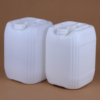 1PCS Food Grade HDPE plastic container 25 liter Stackable packaging drum Anti theft Lid for Liquid,Oil,paint,cosmetic