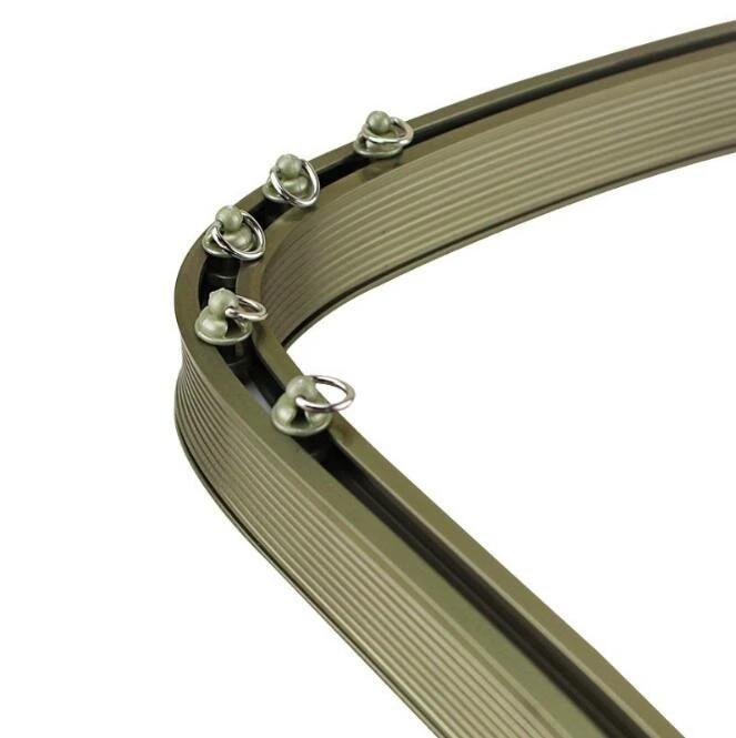 tringles a rideaux incurvees flexibles droites et de haute qualite rails de tringle pliables personnalisables pour baie ou baie vitree