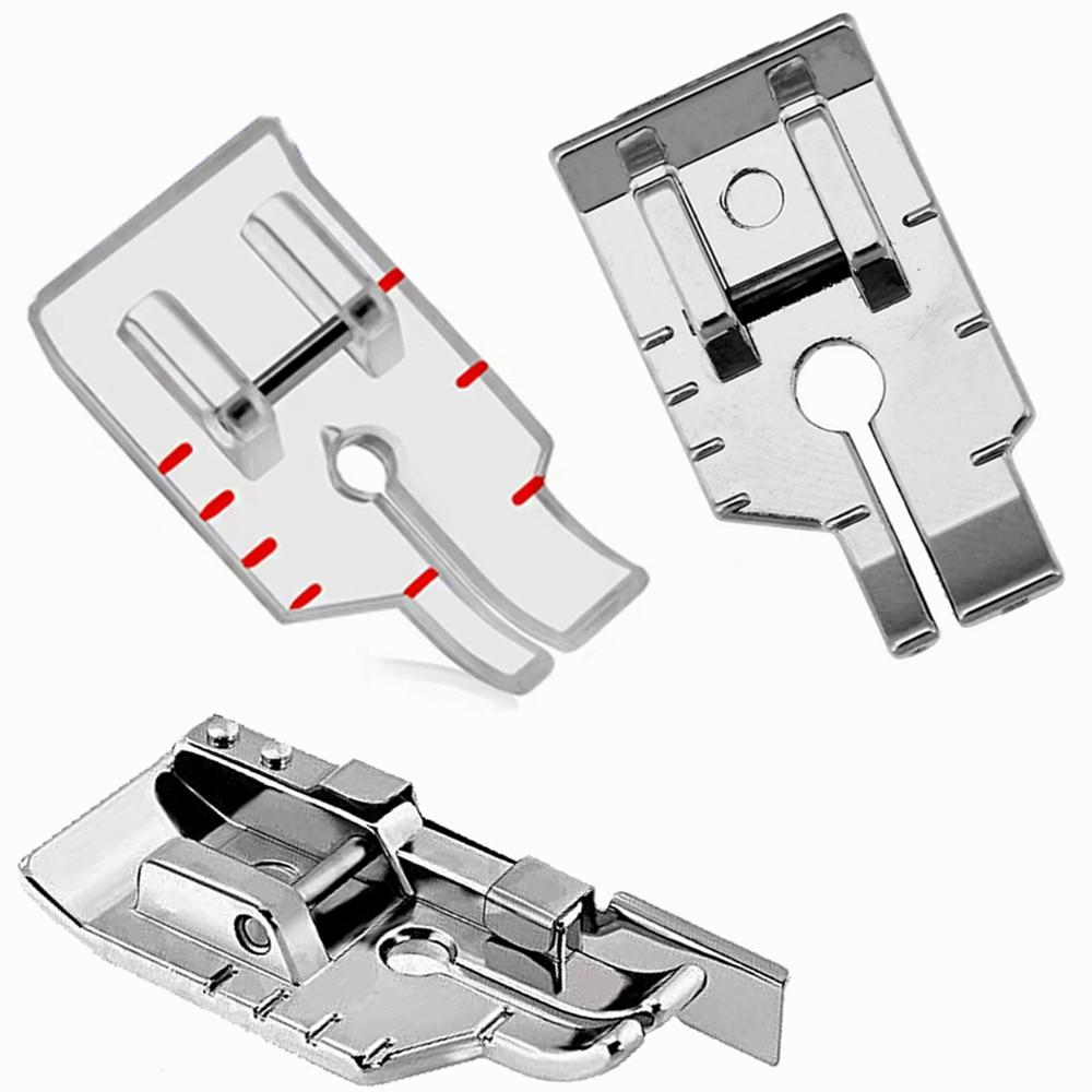 Совместимая прижимная лапка для лоскутного шитья 1/4 дюйма для домашних швейных машин Brother Singer Babylock Toyota YJ353