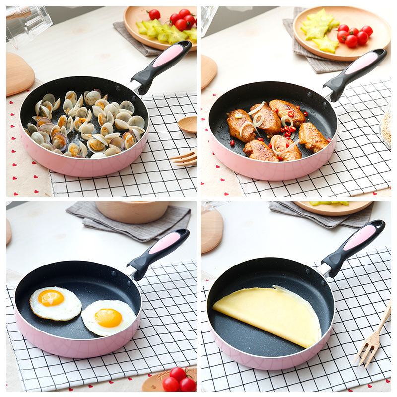 Frying Pan High Quality 20cm Non-stick Copper Frying Pan With Ceramic Coating And Induction Cooking,Oven & Dishwasher Safe