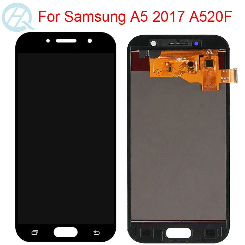 TFT LCD For <font><b>Samsung</b></font> Galaxy A5 2017 LCD With Frame Touch Screen Assembly 5.2
