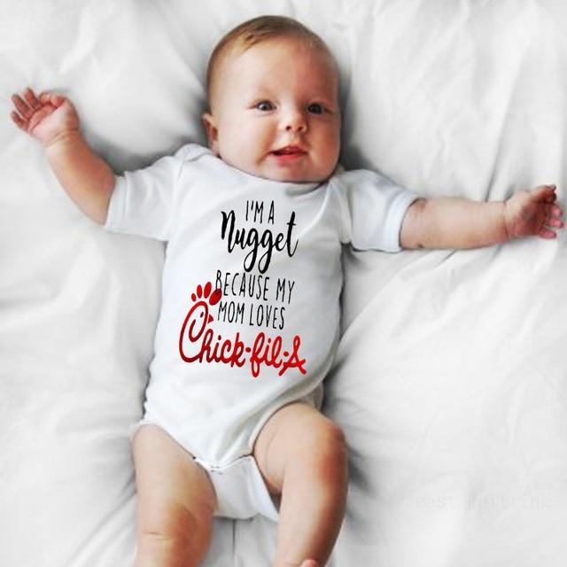 قمصان لطيفة للأطفال الأولاد والبنات لحديثي الولادة ، ملابس أطفال لطيفة ، هدايا استحمام للأطفال