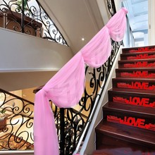 Fashion Yarn Stairs Decoration Holiday Supplies Got Engaged