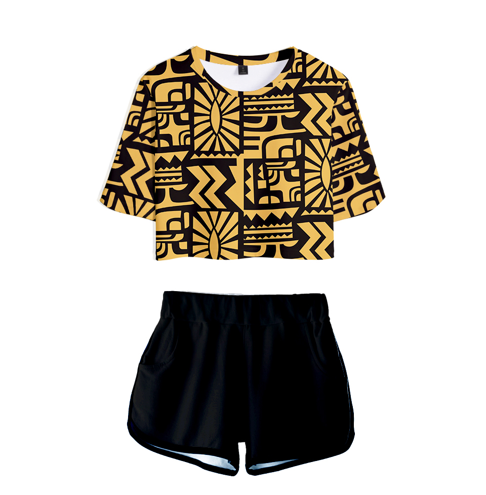 Stranger Things Role Two Piece Set T Shirt + Shorts Suit Cotton Short-sleeved  Leisure 3D Print Novelty Top Luxury Harajuku