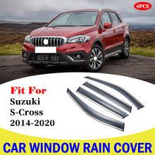 Для suzuki s cross 2014 2020 автомобильный дождевой щит оконный