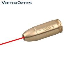 Vector Optics 9 мм картридж, красная лазерная отверстие, Коллиматор, латунь 9x19 мм, Пистолетная винтовка для Glock 17 19