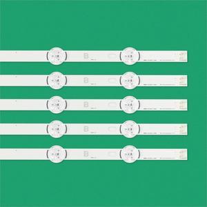 """Image 5 - 10pcs LED strip For LG Innotek DRT 3.0 49""""A/B 49LB5500 49LB550V 49LB5550 6916L 1944A 6916L 1945A 6916l 1788A 6916l 1789A"""