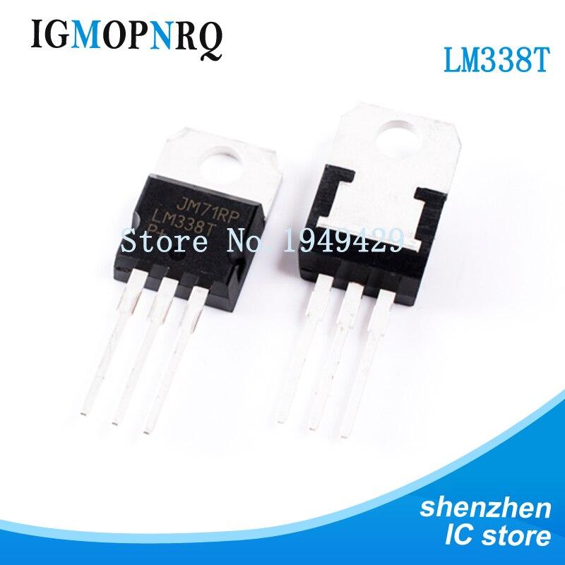 Бесплатная доставка 10 шт./лот LM338T LM338 TO 220 высокотоковый Регулируемый интегрированный регулятор напряжения новый оригинальный voltage regulator regulator voltageadjustable voltage regulator   АлиЭкспресс