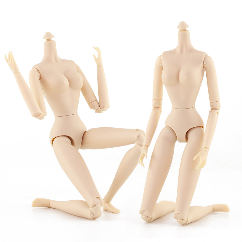 28cm heigh Ball Joints Naked Body for 30cm Doll 28 Joints Moveable Female Body Girl Toys for Children new arrival
