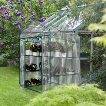 Rośliny rosną torby szklarnia ogród sadzonka zielony dom pokrywa pcv przezroczysty ogród szklarnia rosną dom sadzenia tanie i dobre opinie