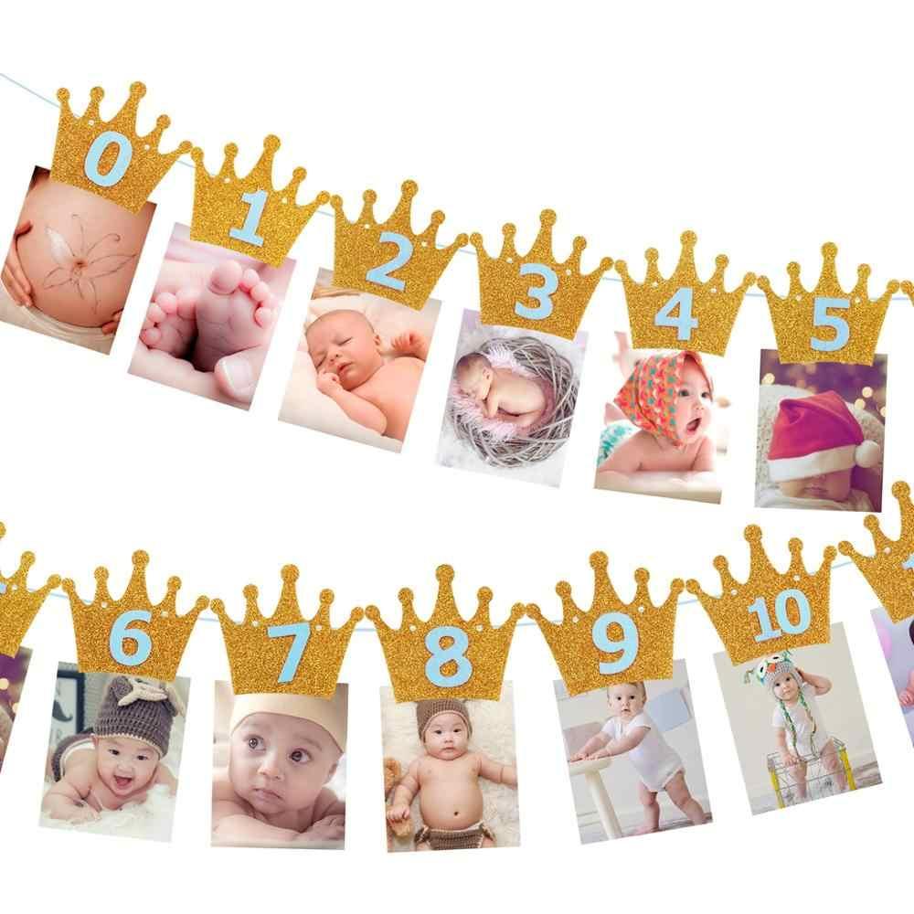 שמח 1st מסיבת יום הולדת דקור ילדים 1 שנה יום הולדת ספקי צד 2nd ראשון יום הולדת ילד ילדה מסיבת תינוק מקלחת דקור babyshowe