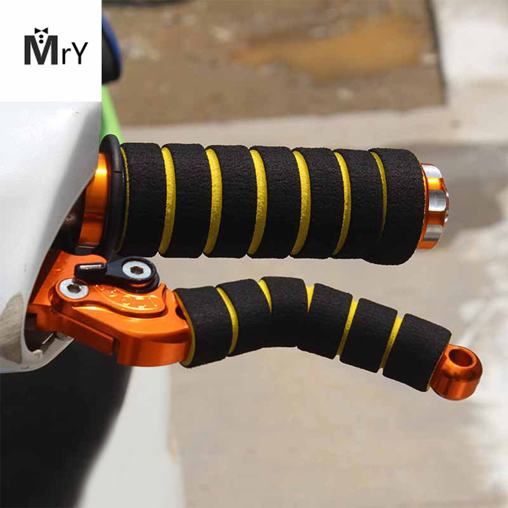 Motorcycle Bike Racing HandleBar Sleeves Non-slip Foam Sponge Grip Cover Soft Brake Bicycle Handle Sleeves Wholesale New