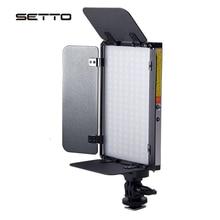 2 色調光可能な Led ビデオライトスタジオ YouTube 商品写真とビデオ撮影バーンドア 3200 5600 18K CRI 96 +