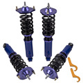 Для Mazda Miata 90-05 Adj. Высота койловеров 96-98 NA NB MX5 амортизаторы пружины синий койловер комплекты синий абтрезвый демпфер сила развала